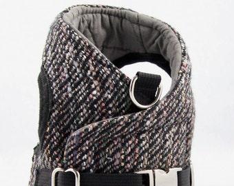 Dog Harness - Tweed