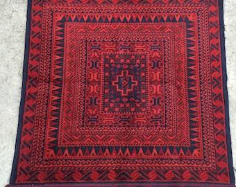 "3'x3'2"" Vintage Persian Rug"