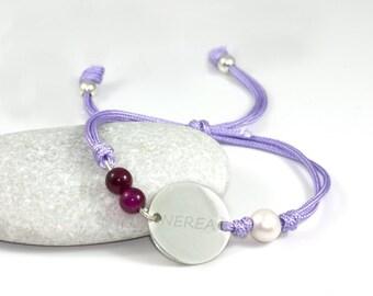 """Sweet blackcurrant"" bracelet"