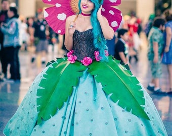 Venusaur Ball Gown - Pokemon Gijinka Cosplay