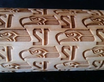 Seattle Seahawks - rolling Pin