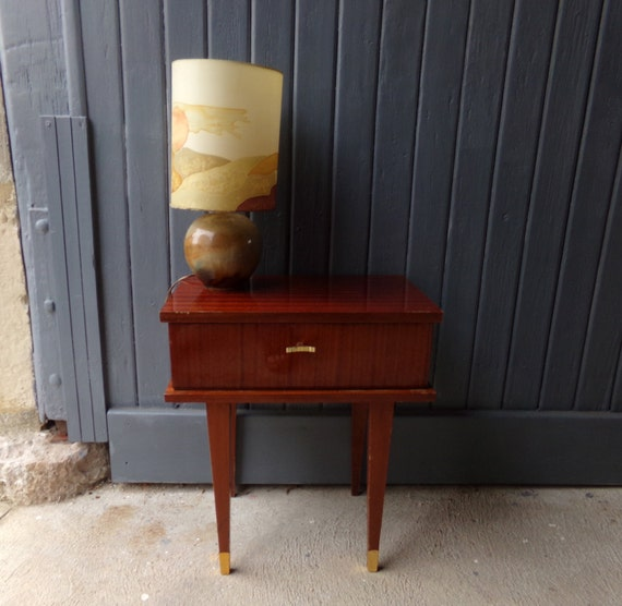 Fabulous funky french vintage 1950s bedside table night for Funky bedside tables