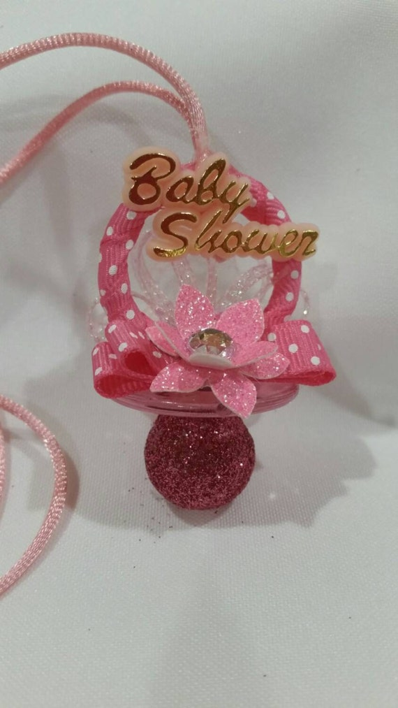 pacifier necklaces baby shower pacifier necklaces pacifiers pink