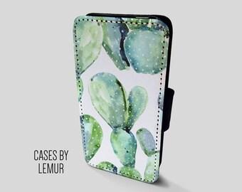 CACTUS Case For Samsung Galaxy S6 Edge Wallet Case For Samsung Galaxy S6 Edge Leather Case For Samsung Galaxy S6 Edge Leather Wallet Case