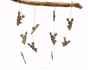 Deer Baby Mobile// Deer Home Decor