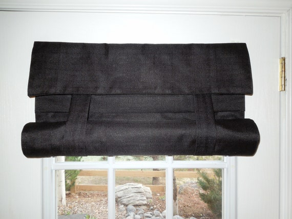 Black Blackout French Door Curtain