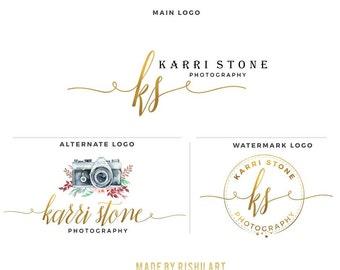 Premade Branding Kit - Photography Logo Set- Watermark - 66