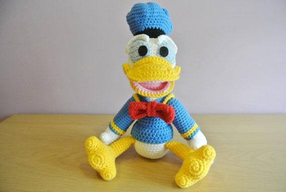 Amigurumi Donald Duck : Crochet Donald Duck Amigurumi Handmade Crochet Amigurumi Toy