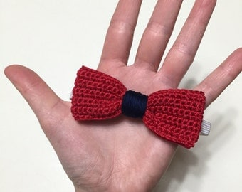 -TONE bow tie made crochet for infants, children and adults