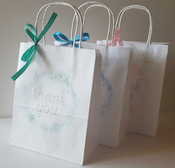 Wedding Gift Bags Bridesmaids : Gift Bags Bridesmaid Gift Bag Personalized Gift Bags