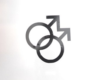 Window Decal, Gay, ST-008d