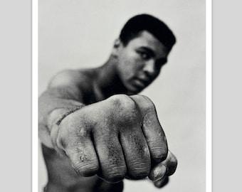 Muhammad Ali 'The Fist Art Print