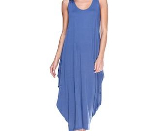 New Violet Oversized Dress.Kaftan dress Summer.Viscose Dress Summer Maternity