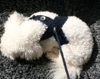 Navy Blue DOG harness, Pets Harness, Friendly Dog Harness - Small dog harness