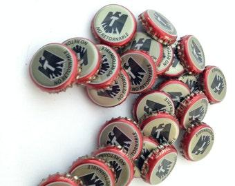 Beer Bottle Caps Crown Tecate Set of 24