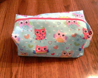 Cute Owls - Box Bag