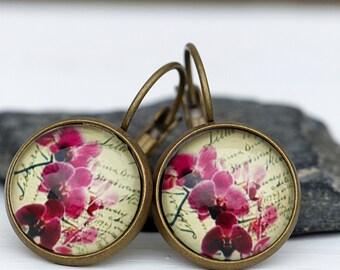 Orchids - Earrings