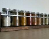 Spice Rack, Wood Spice Rack, Rustic Spice Rack, Modern Spice Rack, Kitchen Organization, Rustic Kitchen, Modern Kitchen, Farmhouse Kitchen