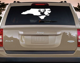 Back Windshield Hunting Decal Texas Hunting Truck Window Decal - Rear window hunting decals for trucks