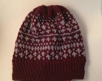 Stars - Adult Knit Hat