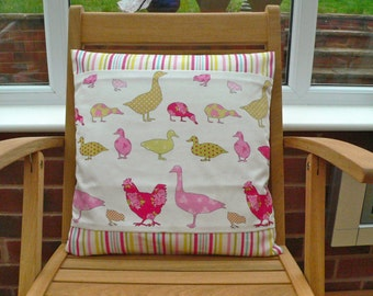 Chicken & Chicks Cushion Cover