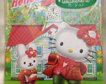 Rare and Beautiful Hello Kitty Sapporo Japan Exclusive Memo Pad Gotochi / Regional / Kawaii + Bonus!