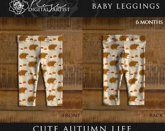 Cute Autumn Life - Baby Leggings