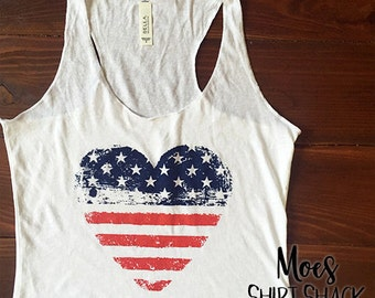 Fourth Of July Tank.