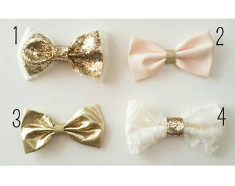 Gold Collection Hair Bows