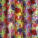 100% Cotton Rose & Hubble By the Metre Meter Mexican Candy Skulls Day of the Dead SWIRLS Floral Flowers PEACE Butterflies Fabric Blue Cerise