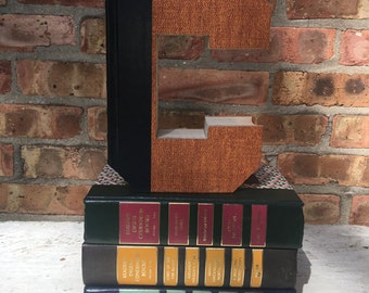 Book Letter C...Custom Made Just For YOU!!!!  Letters created from actual Hardcover Books!!