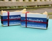 Freesia Blonde Color-enhancing Goat's Milk Solid Shampoo Bar