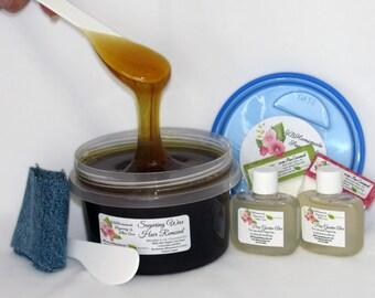 Sugaring Wax natural hair removal - thinner hair, Body Sugaring, sugar wax, sugaring, sugar wax, sugar hair removal, natural sugaring 16 oz