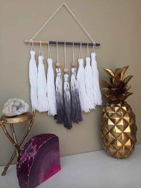 Tassel Mobile Tassel Garland Yarn Wall Hanging Dip By