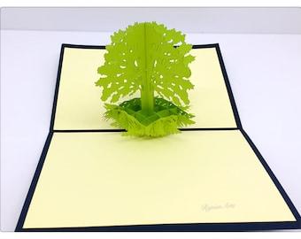 3D Pop Up Tree Card
