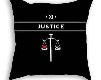 Justice | Tarot Pillow