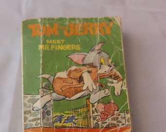 Tom & Jerry with Mr. Fingers Big Little Book