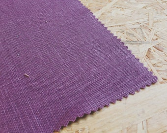 Mauve Fabric- Linen- Plain Mauve fabric- Mauve Linen- Mauve Curtain Fabric- Mauve pink fabric- Purple Fabric- Purple Linen- Dressmaker