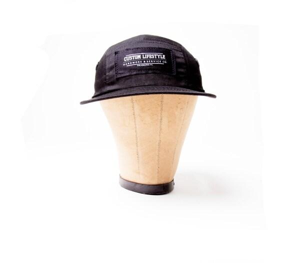CL five panel black hat