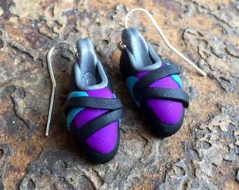 Rock Climbing Shoe Earrings - Custom and unique gift for rock climbers