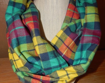 SALE!! Flannel Infinity Scarves