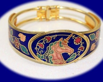 Vintage Statement Bracelet Gold Tone Clamper Bracelet Vintage Bracelet Vintage Jewelry