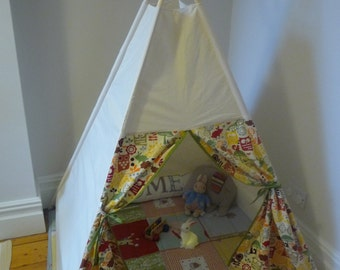 Forest Animals Tipi - WITH POLES