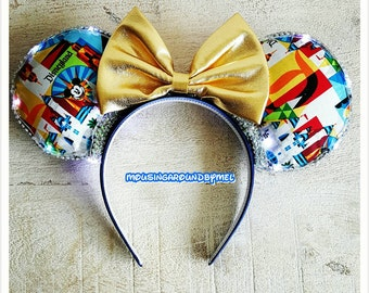 Theme Park Ears with Lights