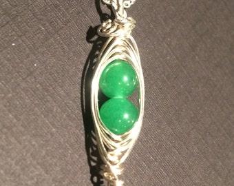 Jade Peas in a Pod
