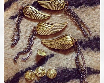Pin- Mickey Mixed Metal Wings