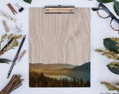 Donner Lake, Wood Clipboard | White Oak