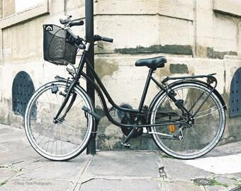 Bicycle Art, Photography Print, Bike Photo, Paris Print, Wall Decor, Bicycle Picture, Wall Art Print, Paris Photography, 5 x 7, 8 x 10 Print