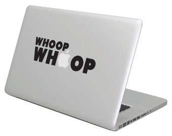 Whoop MacBook Decal sticker. Choose your size.