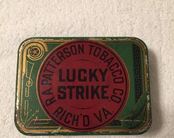 Vintage Lucky Strike Tin